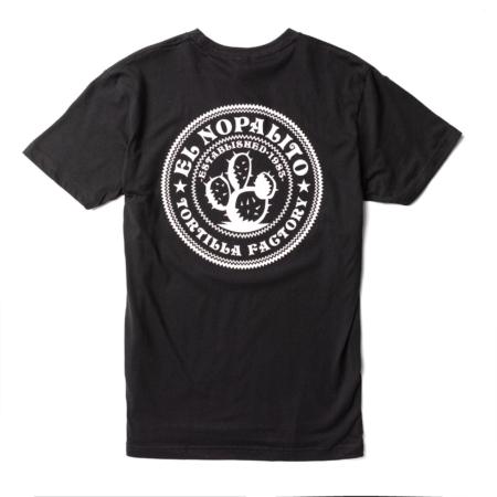 El Nopalito Black T-Shirt Back